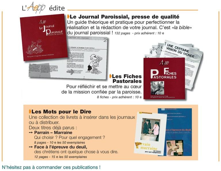 Publications de l'AEPP